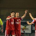 Celebración del gol de Adri para ElPozo (Copiar)