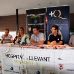 Vadillo, Isabel Ximelis, José Tirado, Tomás de Dios y Vega durante la presentación web