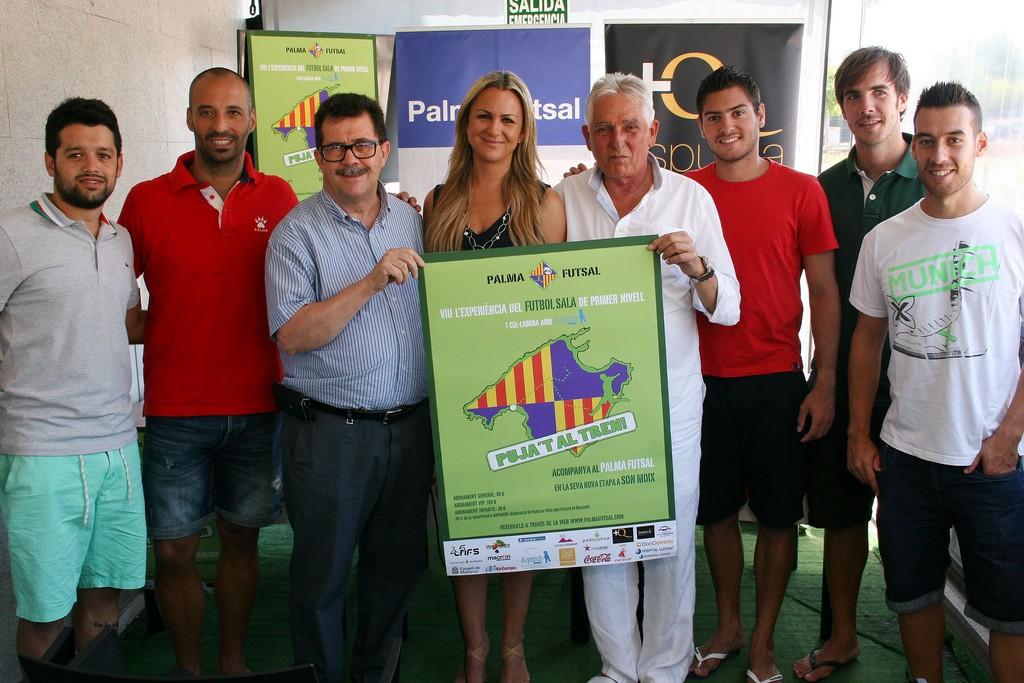 Burrito, Vadillo, M. Jaume, Belén Luna, Jaume Coll, Taffy, Barrón y Sergio en la presentación de la campaña 1 (Copiar)