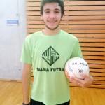Pablo Salado, ayer, en el entrenamiento del Palma Futsal 2 (Copiar)
