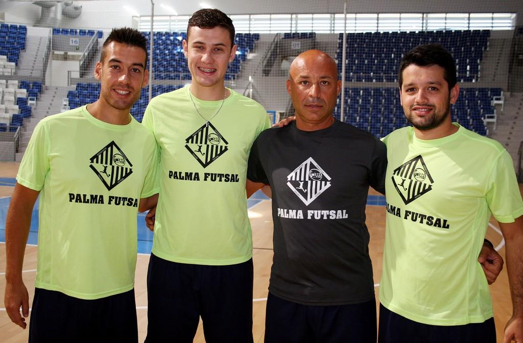 Sergio, Paradynski, Juanito y Burrito, las cuatro incorporaciones del Palma Futsal (Copiar)