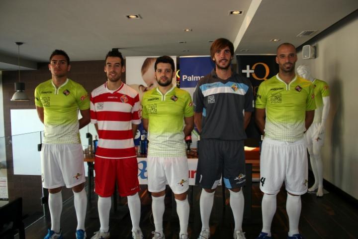 Las tres equipaciones del Palma Futsal para esta temporada (Copiar)