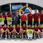 Los jugadores del Palma Futsal con Mario Hidalgo 2 (Copiar)