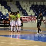 Celebración del gol de Chicho, el segundo del partido (Copiar)