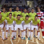 Formación del Palma Futsal ante Magna Navarra (Copiar)
