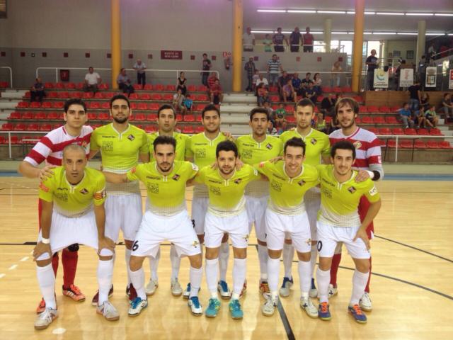Formación del Palma Futsal ante Peñíscola (Copiar)