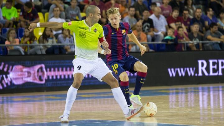 Futsal. FCB-Palma FS - Divisio Honor - Jornada 4
