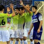 Celebración del gol de Vadillo, el segundo del partido (Copiar)