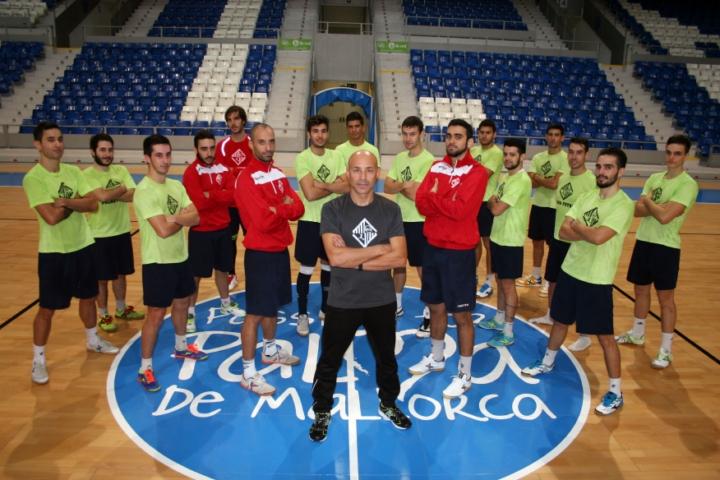 El Palma futsal tras el último entrenamiento 1 (Copiar)
