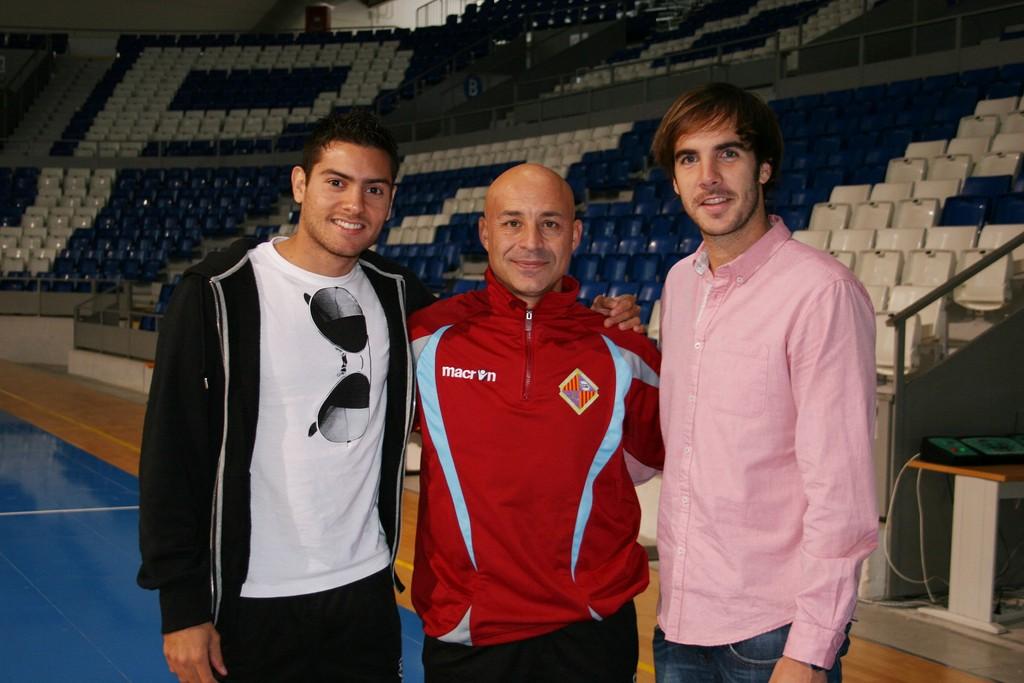 Taffy, Juanito y Carlos Barrón en Son Moix 1 (Copiar)