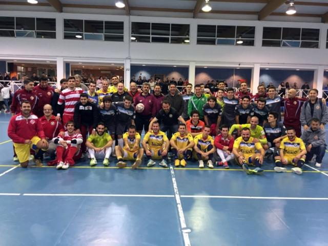 Palma Futsal, filial y juvenil tras el torneo disputado en Son Ferrer 1 (Copiar)