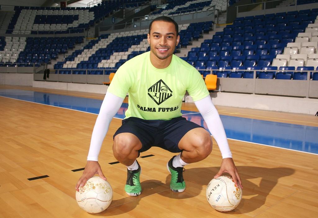 Attos, esta mañana en el entrenamiento del Palma Futsal 1 (Copiar)