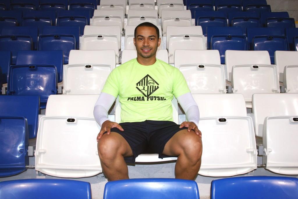 Attos, esta mañana en el entrenamiento del Palma Futsal 2 (Copiar)