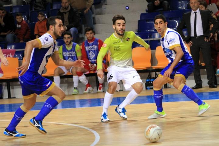 Chicho, uno de los más destacados del Palma Futsal (Copiar)
