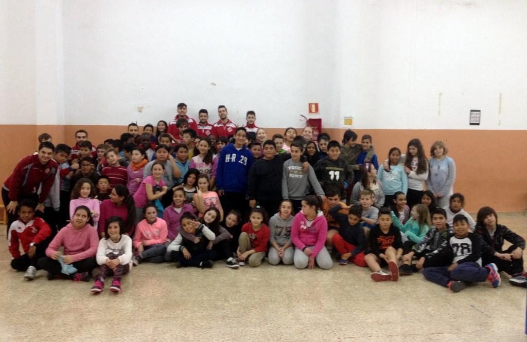 El Palma Futsal visita el colegio Josep Bauçà de Palma 1 (Copiar)