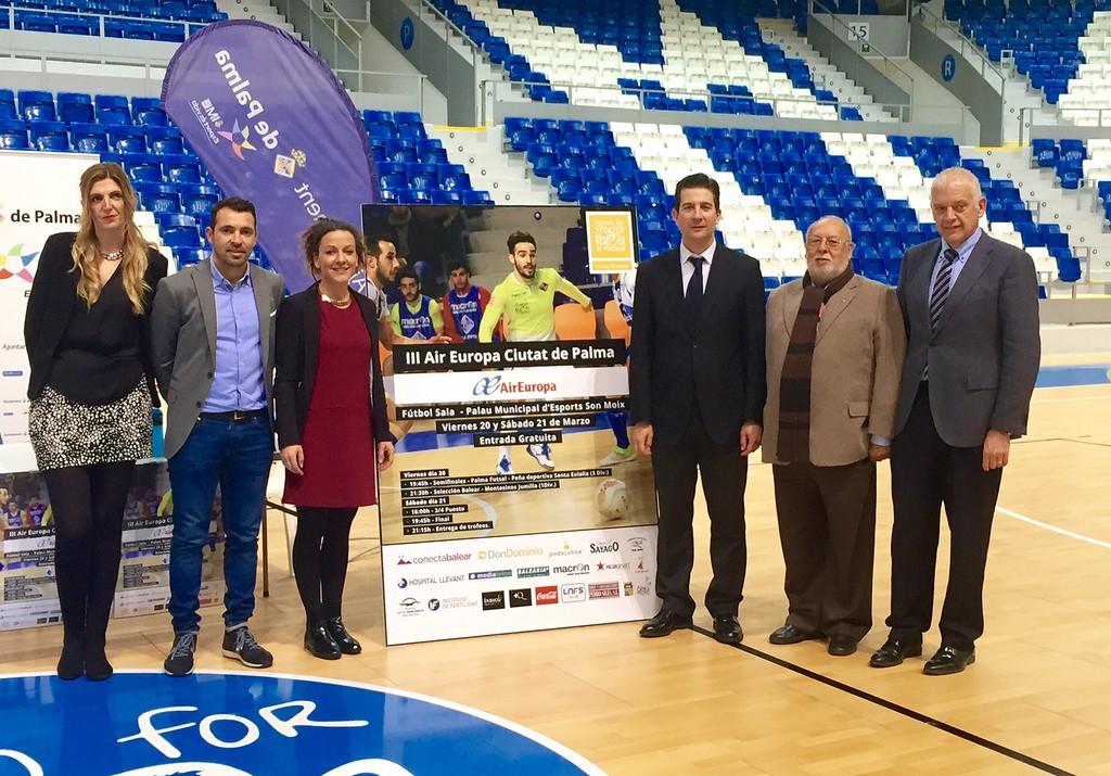 Presentación del torneo III Air Europa - Ciutat de Palma de fútbol sala 1 (Copiar)