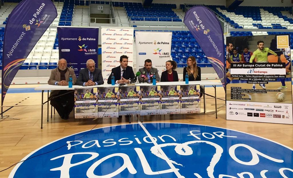 Presentación del torneo III Air Europa - Ciutat de Palma de fútbol sala 2 (Copiar)