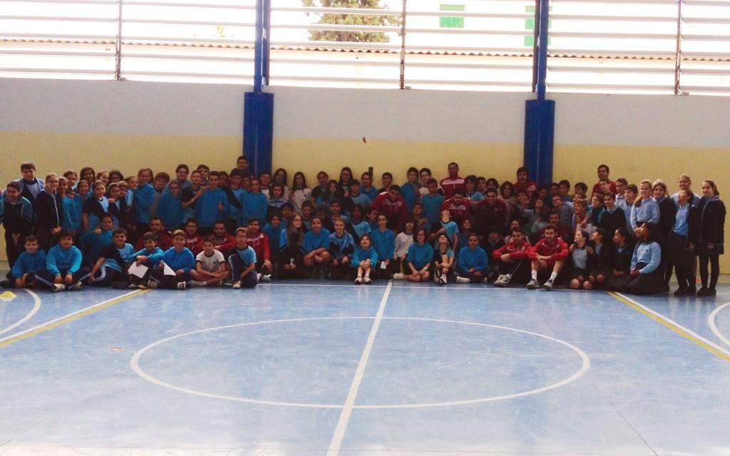Visita del equipo al colegio Santa Magdalena Sofía (Copiar)