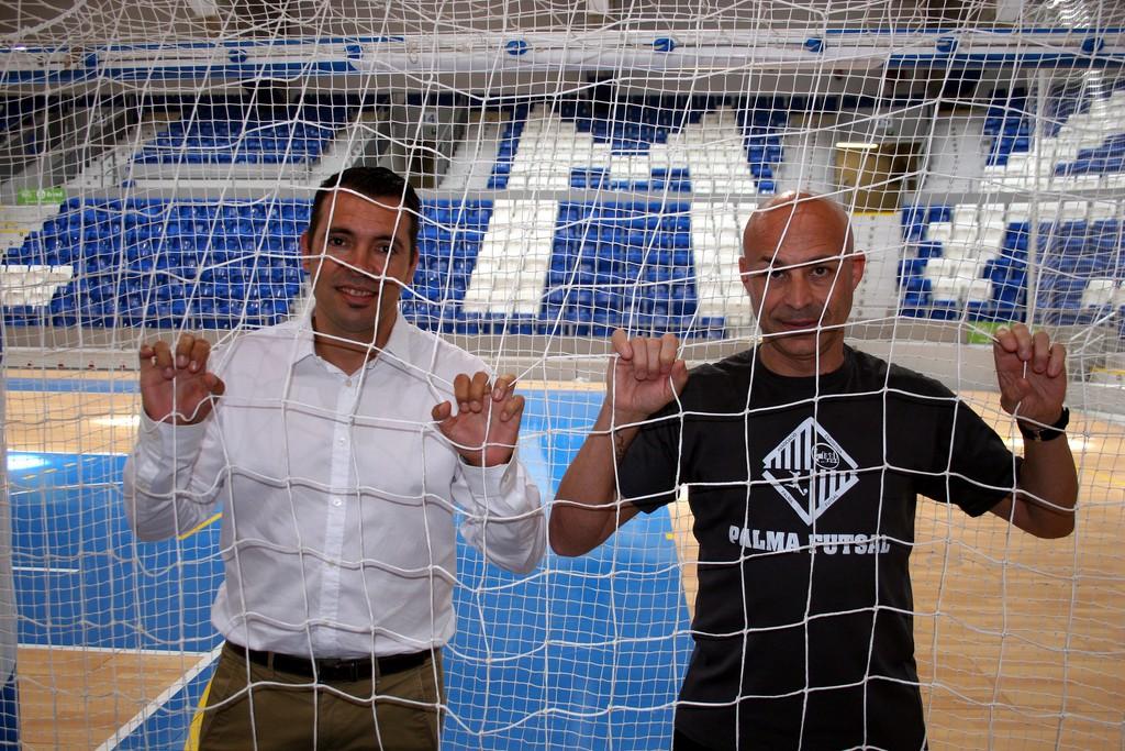José Tirado y Juanito en Son Moix 1 (Copiar)