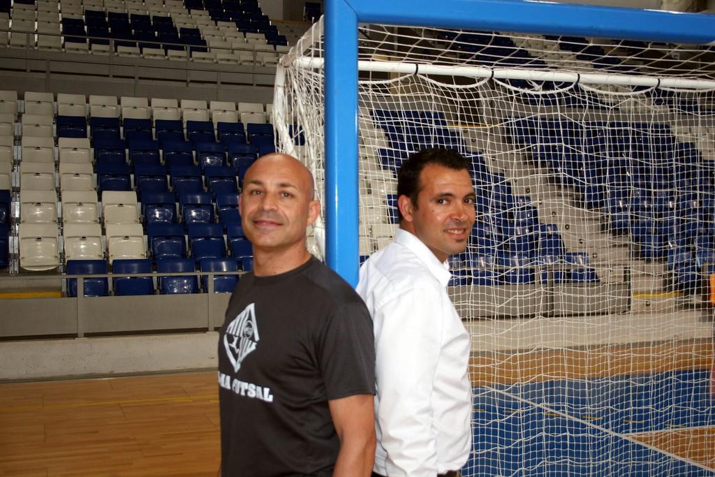 José Tirado y Juanito en Son Moix 3 (Copiar)