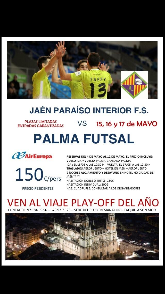 cartel viaje a Jaén
