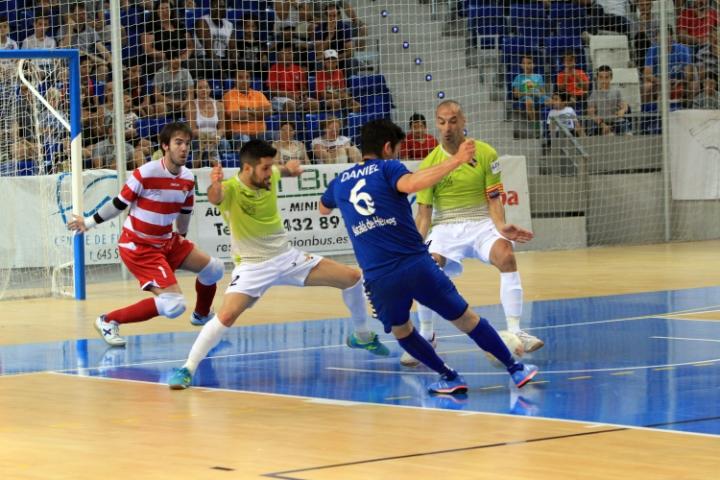 Barrón ante el Inter Movistar en las semifinales