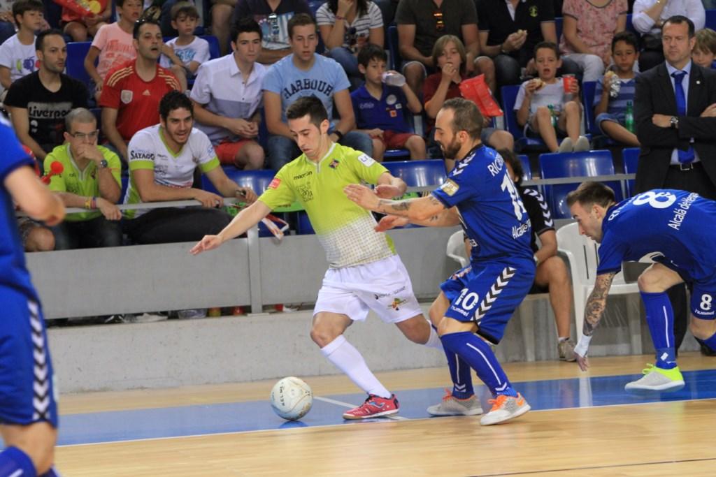 Joselito ante el Inter Movistar en el último partido 2