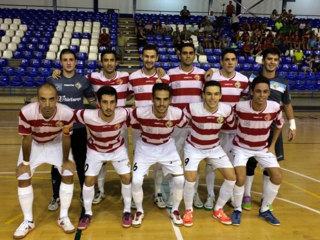 Formación del palma Futsal en Cartagena 1 (Copiar)
