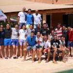 La plantilla del Palma Futsal al completo en el almuerzo veraniego 2 (Copiar)