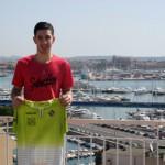 Lucas Tripodi, en la terraza del Hotel Amic Horizonte 3 (Copiar)