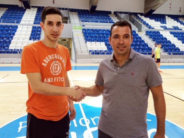 Lucas Tripodi y José Tirado, en Son Moix (Copiar)