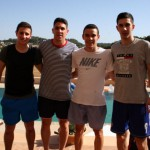 Nico Sarmiento, Pizarro, Colacha y Lucas Tripodi (Copiar)