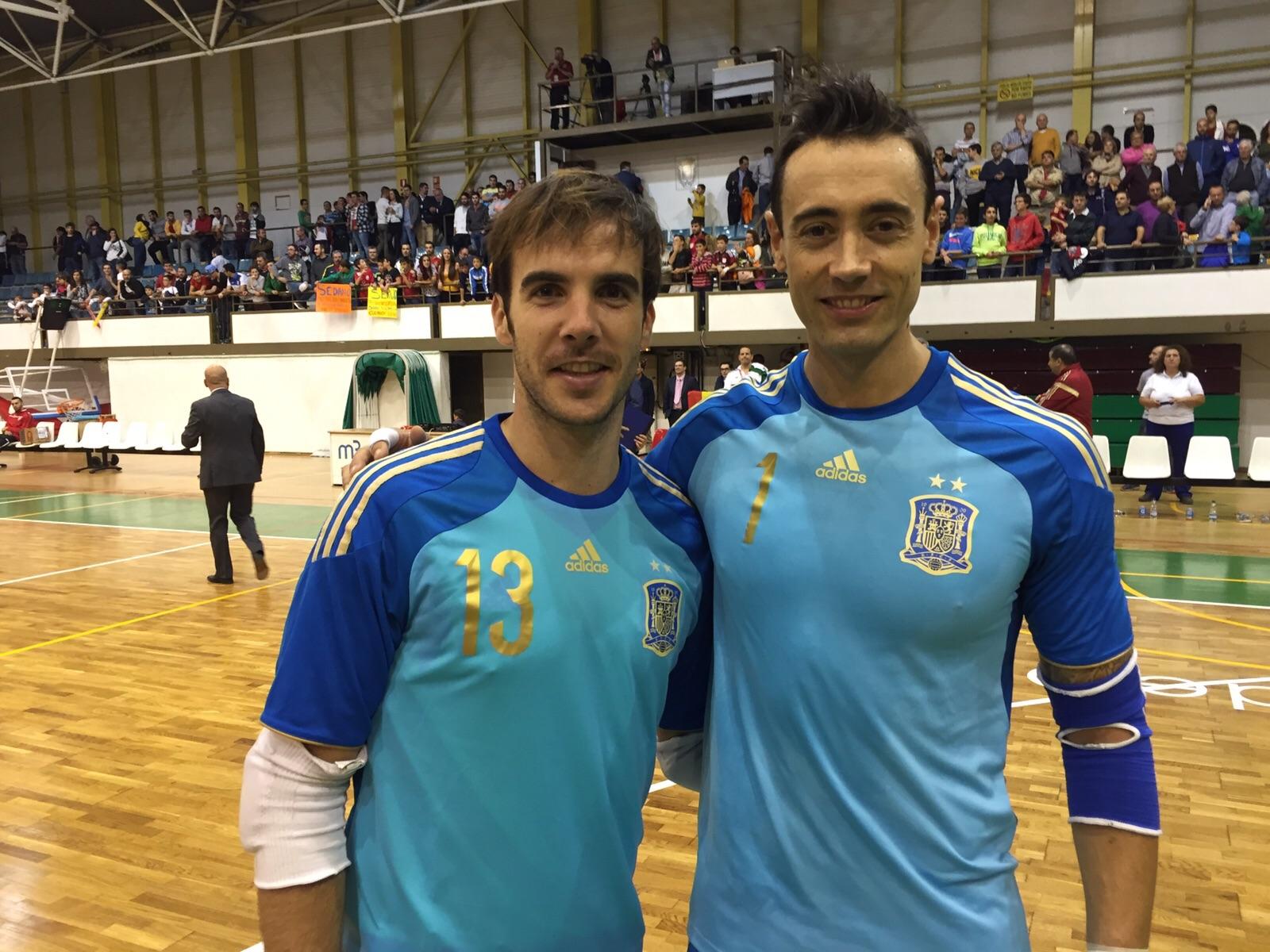 Carlos Barrón y Paco Sedano