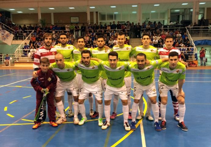 Formación del Palma Futsal en Valdepeñas (Copiar)