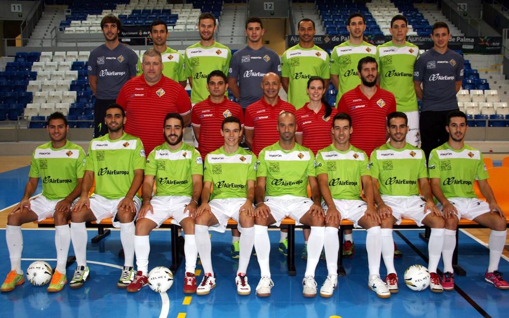 Foto oficial del Palma Futsal 2015-16 (Copiar)