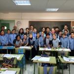 Con los alumnos del colegio CP Balmes de Palma 1 (Copiar)