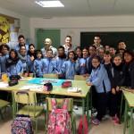Con los alumnos del colegio CP Balmes de Palma 4 (Copiar)