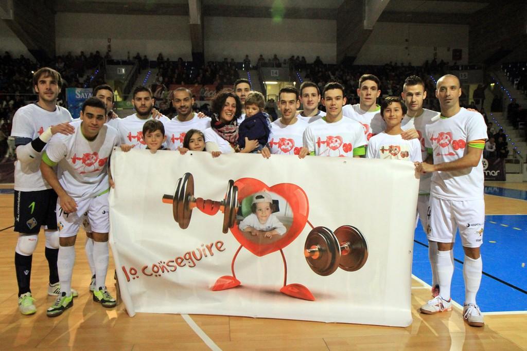 El Palma Futsal con Izan (Copiar)
