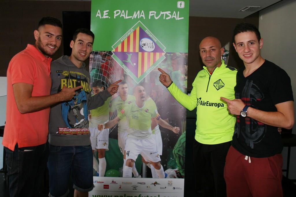 Taffy, Sergio, Juanito y Nico Sarmiento apuestan por el Palma Futsal 1 (Copiar)
