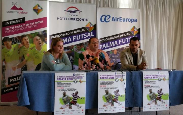 Eva Serra, Javier Mejías y José Tirado presentan el torneo 5 (Copiar)