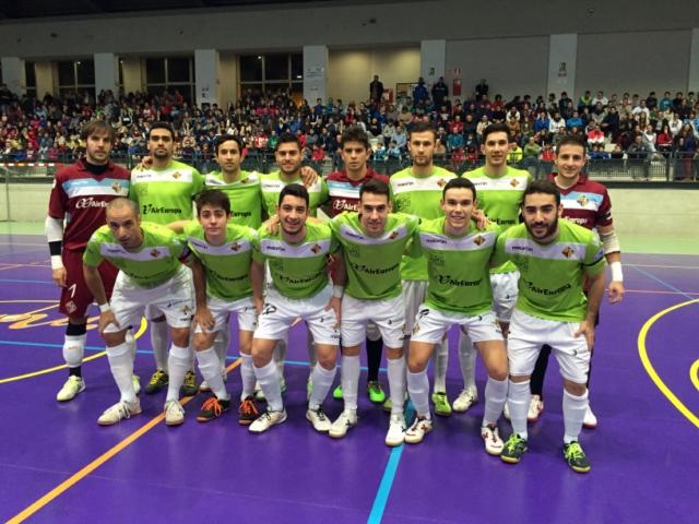 Formación del Palma Futsal en Córdoba (Copiar)