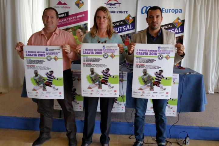 Javier Mejías, Eva Serra y José Tirado presentan el torneo (Copiar)