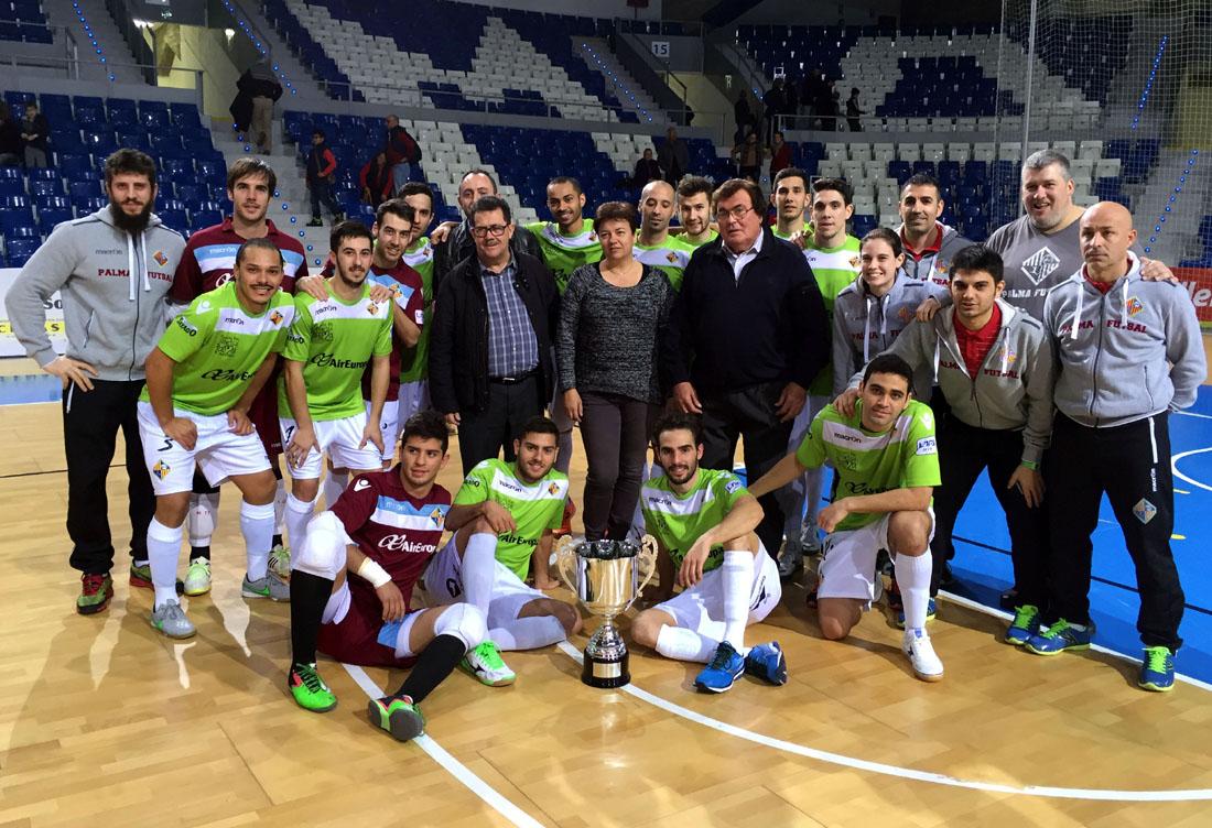El Palma Futsal, campeón del Ciutat de Palma 1