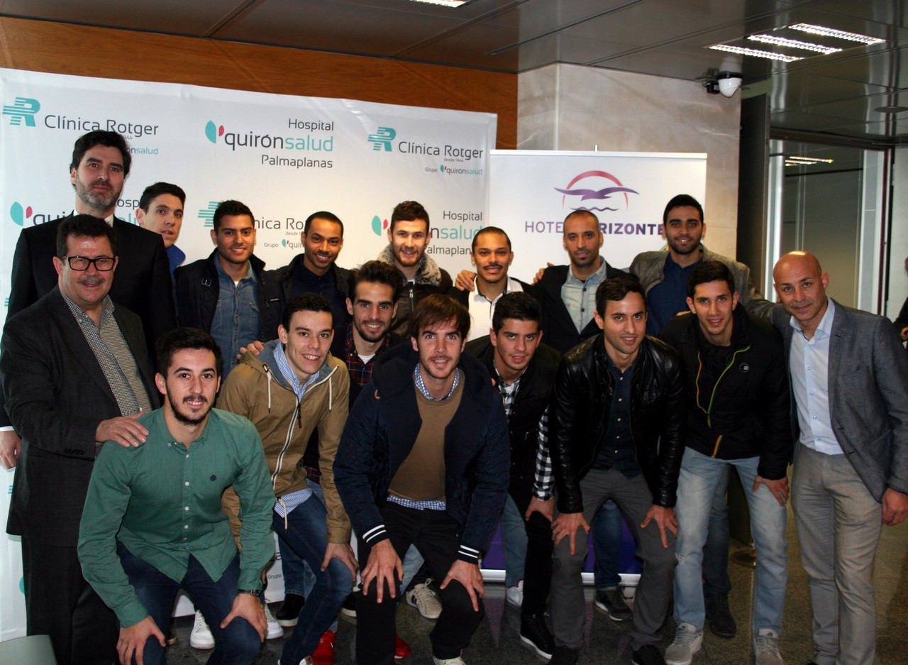 El Palma Futsal presenta el convenio con el grupo Quirónsalud 2 (Copy)