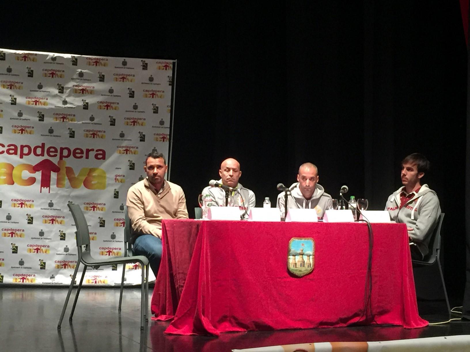 José Tirado, Juanito, Vadillo y Barrón, en el Teatre de Capdepera 3.jpeg (Copiar)
