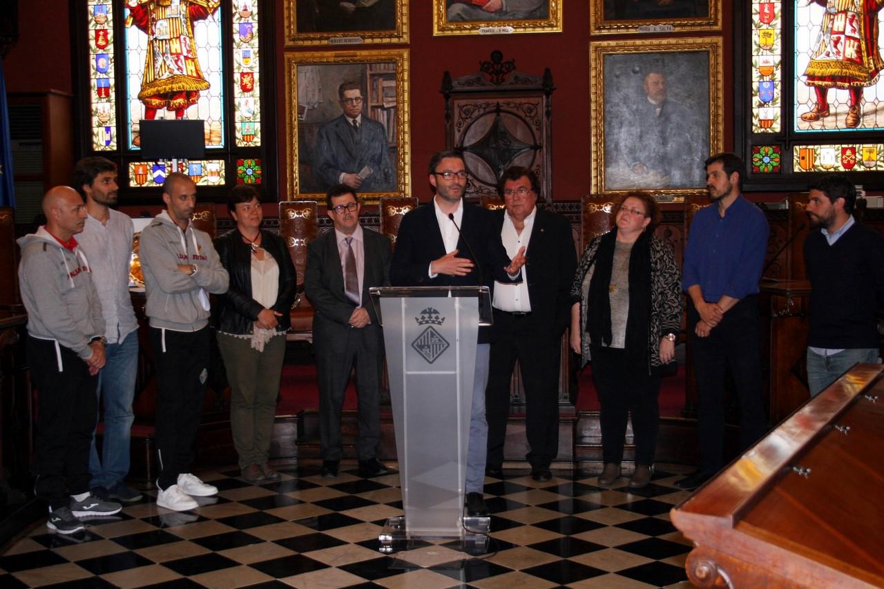 Discurso del alcalde, José Hila 2 (Copy)