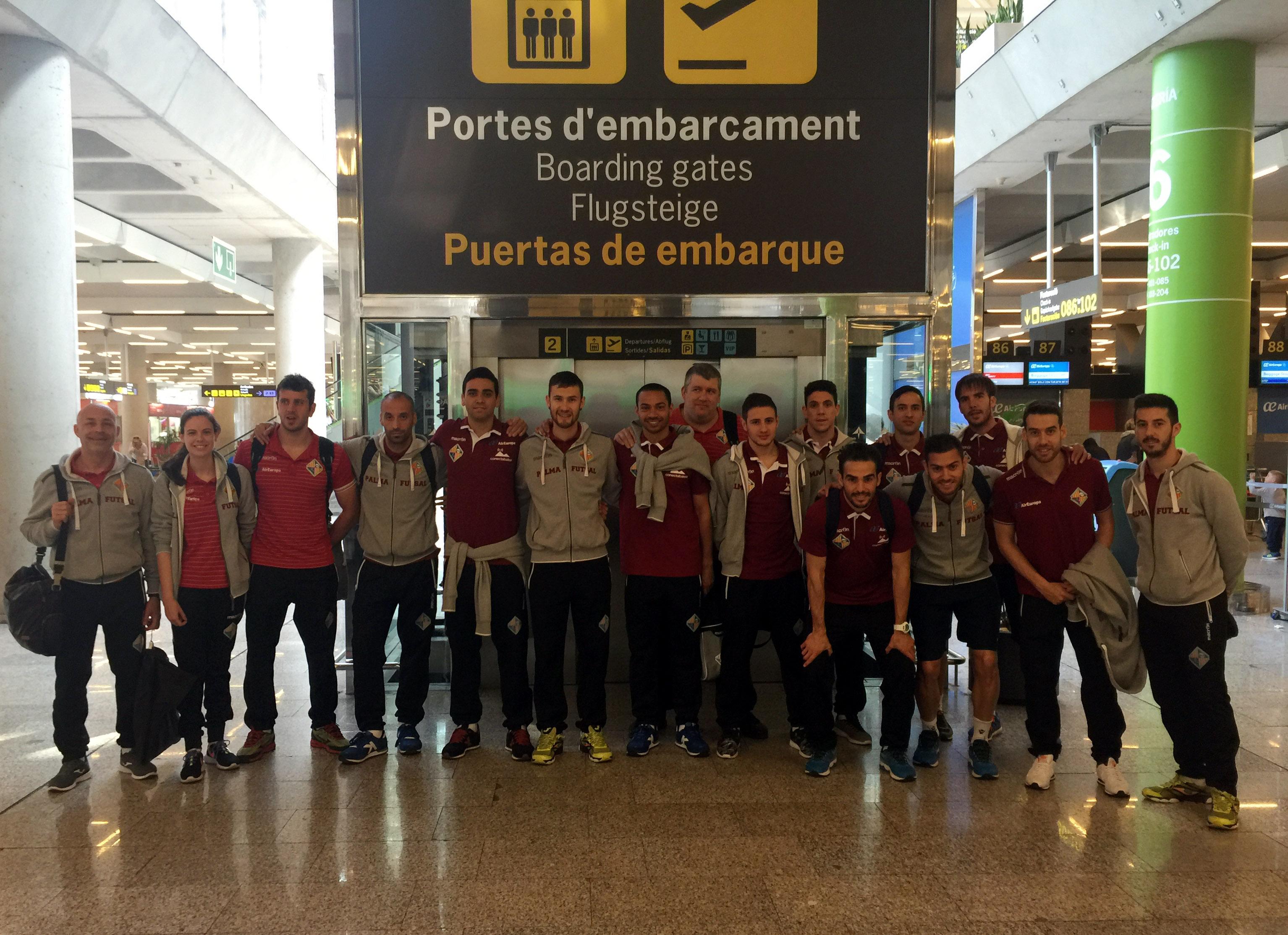 El Palma Futsal embarca hacia el playoff
