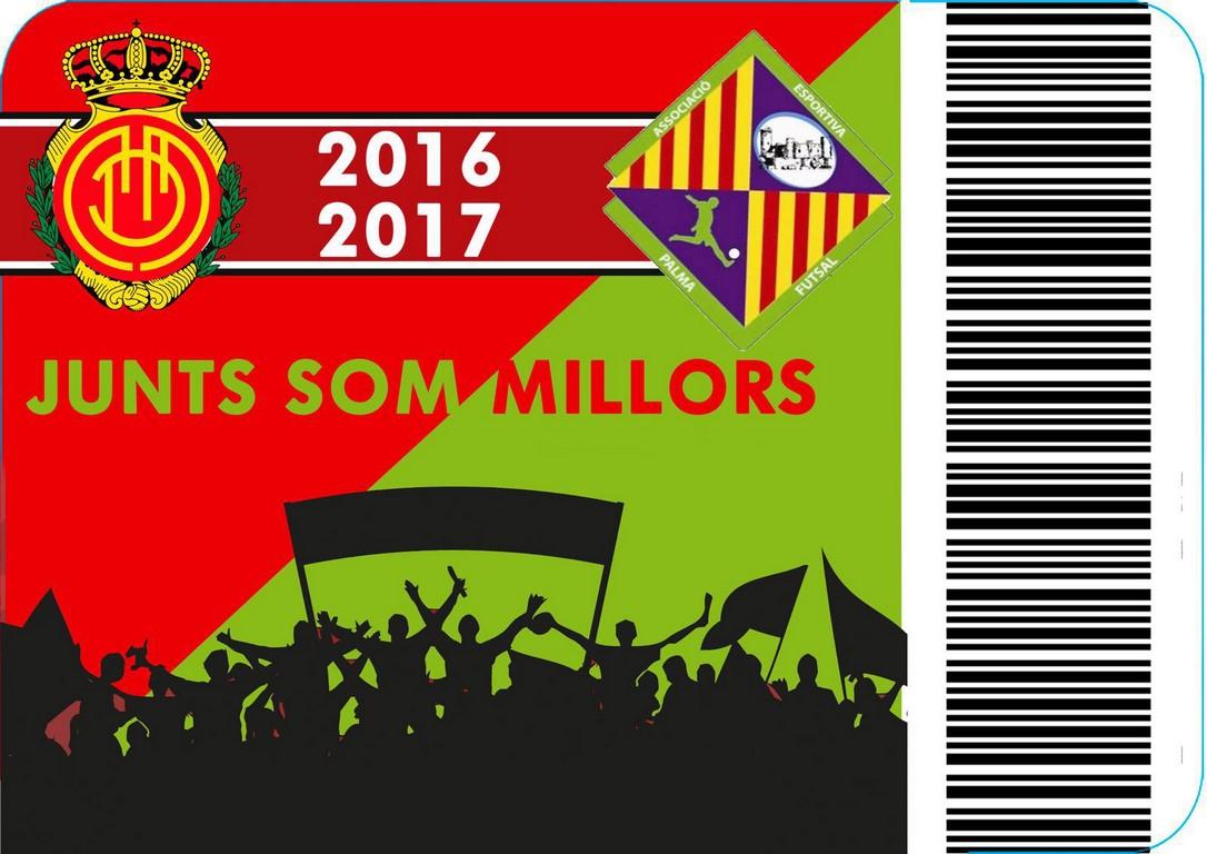 Abono RCD Mallorca - Palma Futsal (Copiar)