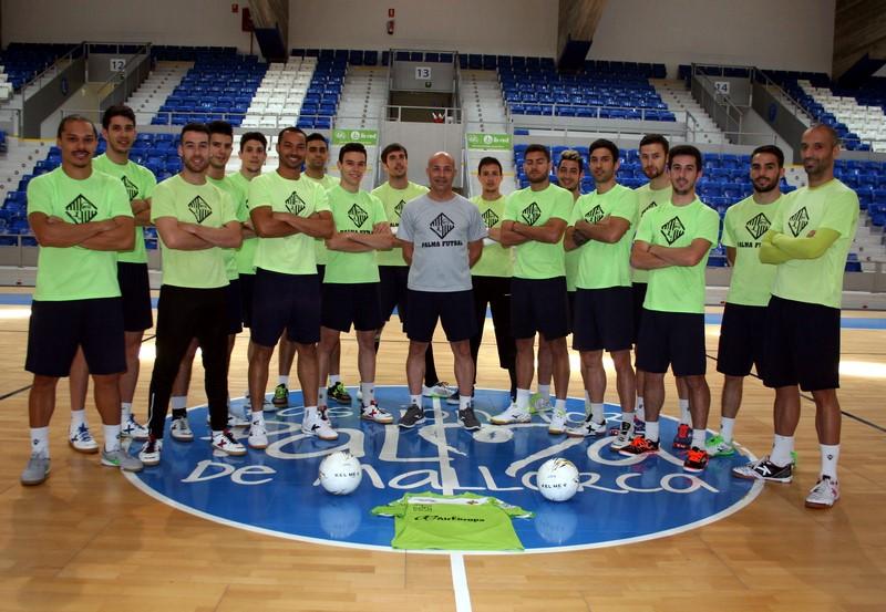 El Palma Futsal posa en Son Moix 1 (Copy)