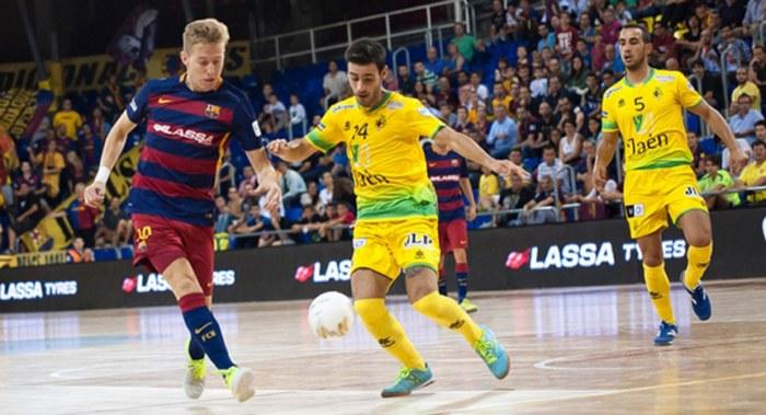 Eloy Rojas en el partido ante el Barcelona en la pasada temporada (Copiar)